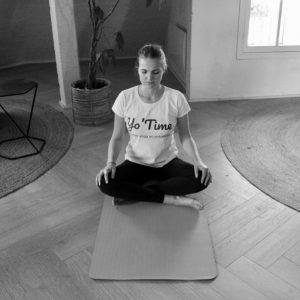 Inès, Yoga Vinyasa